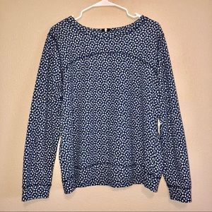 Blue & White Large H&M Sweater